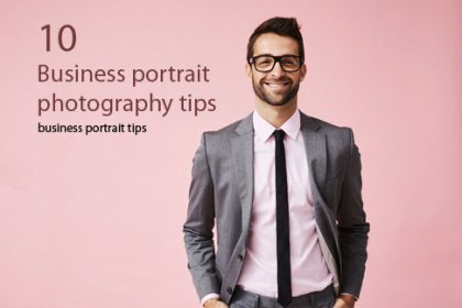 Business portrait photography tips
