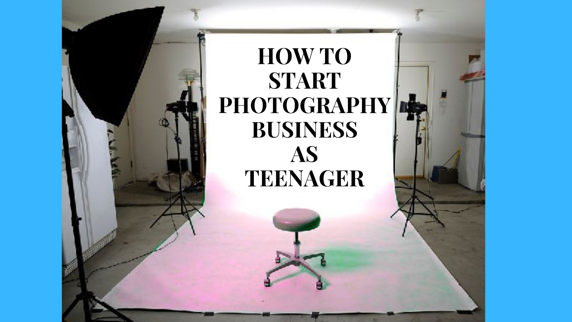 How to Start Product Photography Business as Teenager
