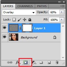 Add A Layer Mask To Layer 1
