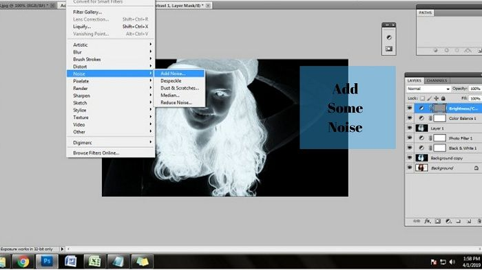 How to make Photos like Xray in Photoshop CS5