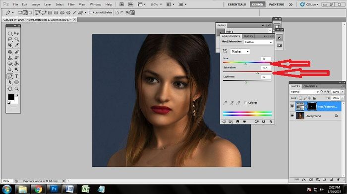 Photoshop Beauty Retouching Technuique