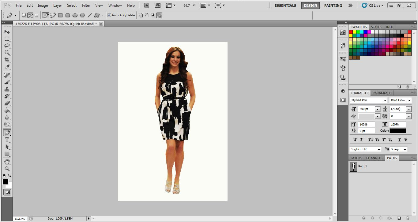 How to make Multiple clipping Path