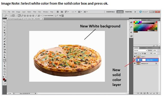 Change Photo Background to White using Photoshop
