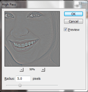 Apply The High Pass Filter To Layer 1 2nd