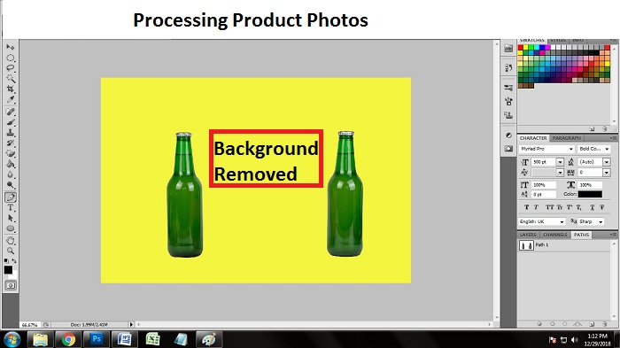 Editing Product Photos using Photoshop