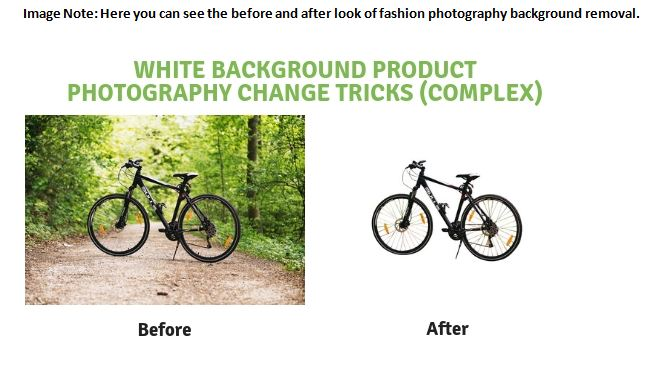 white background product photography change tricks complex