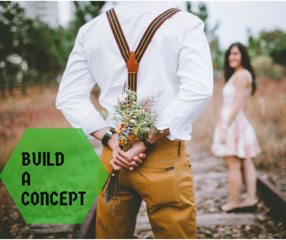 Build a Concept Step 1-How to make the Photo Look Professional