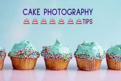 Cake photography tips