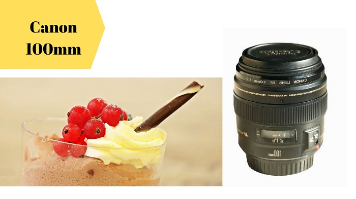 Food Photography best Lenses