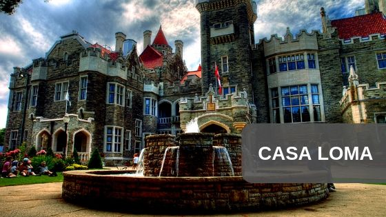 Casa Loma indoor location