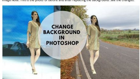 Replace the Photo Background in Photoshop
