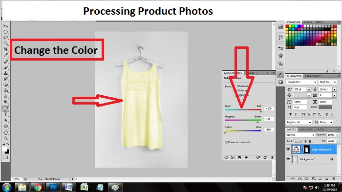 Product Photo Editing in Photoshop