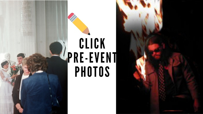 How to photograph events