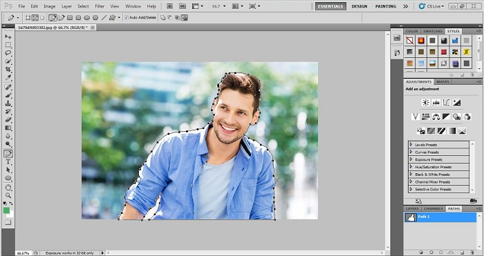 How to do Photoshop Path tutorial