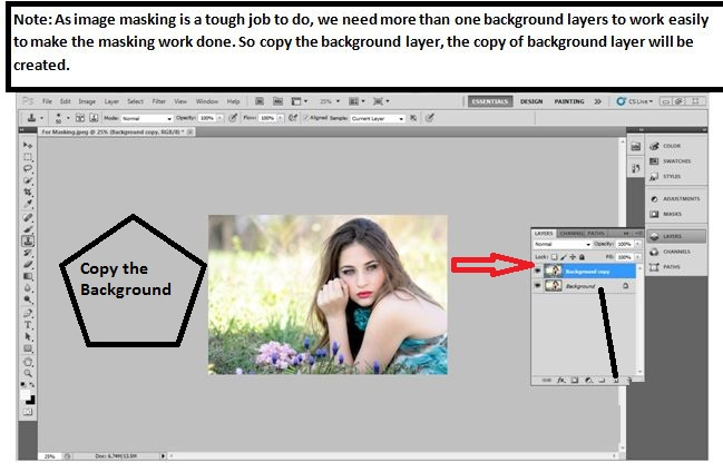 easy way to hair mask in Photoshop