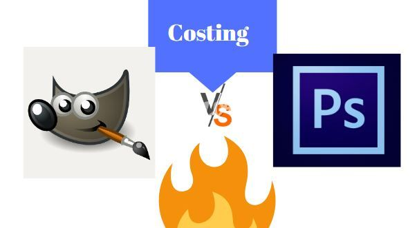 Costing for Photoshop and GIMP