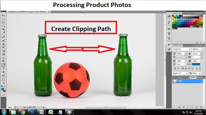 Edit Product Photos in Photoshop