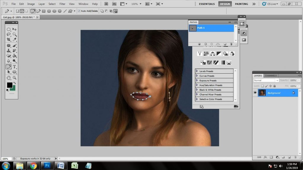 How Retouch Beauty Photos in Photoshop