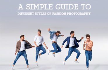 Different styles of fashion photography