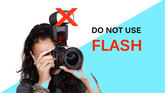 Flash as a camera setting