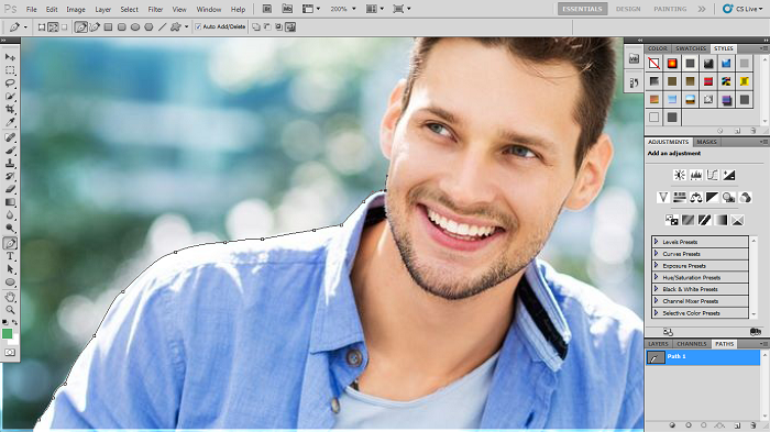 How to do Photoshop Path for Beginners