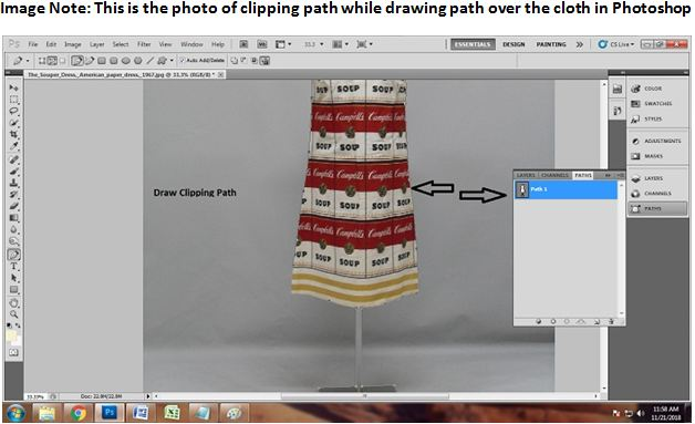 Replace Photo Background in Photoshop 2018