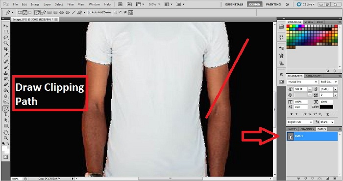 Technique of changing the dress color in Photoshop