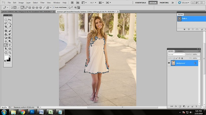 Fashion Photo Editing with Photoshop