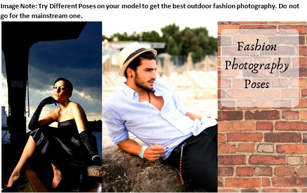 fashion photography tips for beginners