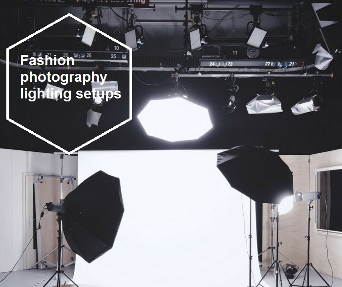 Fashion photography lighting setups 2018