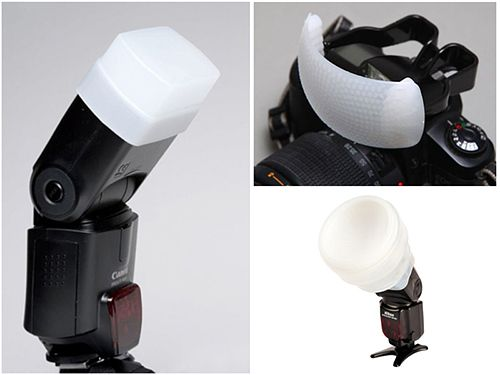 Flash Diffuse equipment for still life photography