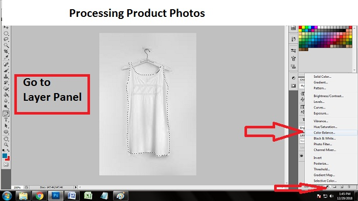 Edit Product Photos using Photoshop