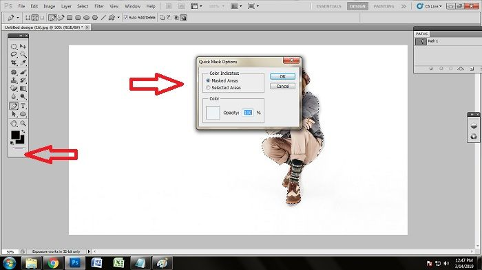 how to remove white background from jpg in Photoshop