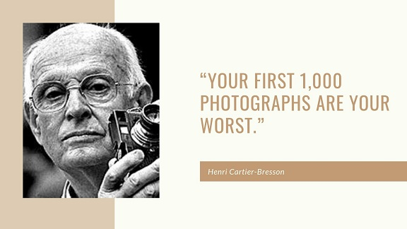 photography quote by Henri Cartier Bresson