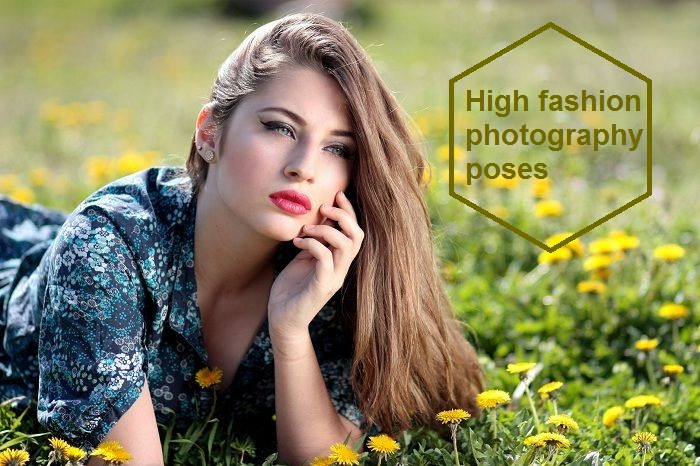 High fashion photography poses 2018