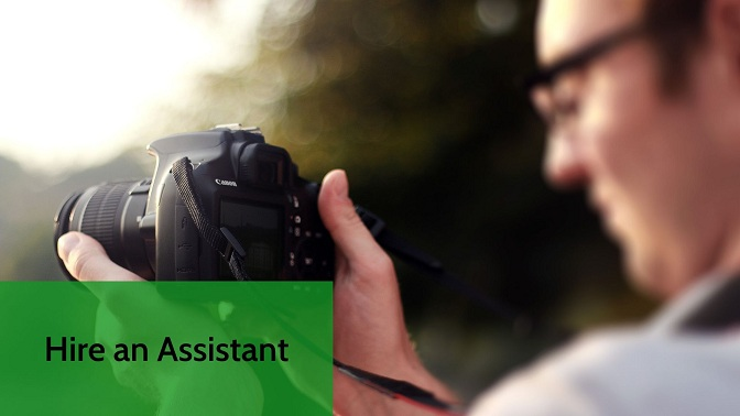 Assistant for photography