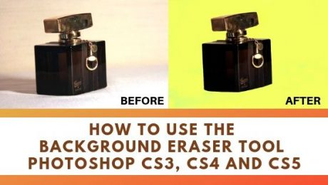 How to Remove Background using Photoshop Eraser Tool