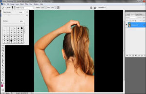 how to change hair color to white in Photoshop