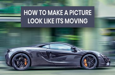 how to make a picture look like its moving