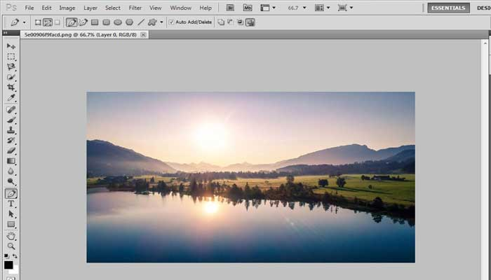 Tutorial on How to make tiny planet in Photoshop