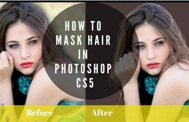 Photoshop Hair Masking