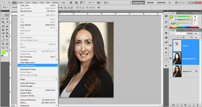 Swap Face in Photoshop Tutorial