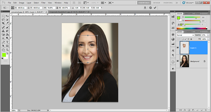 How to swap face in photoshop for Beginners