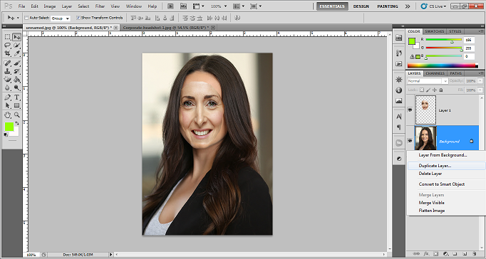 Easy Steps of Swapping Face in Photoshop