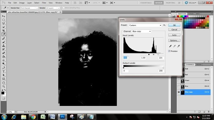 Photoshop Hair Masking Tips