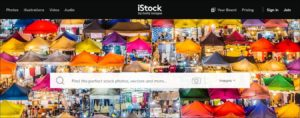 Istockphotos is the best image selling website