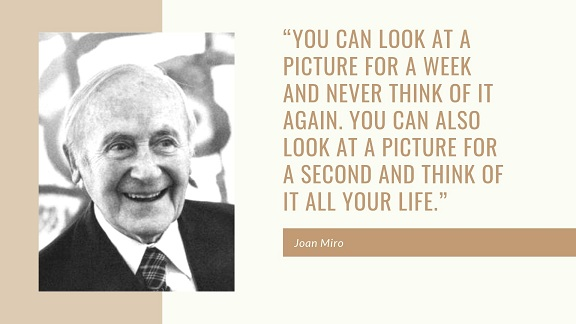 photography quote by Joan Miro