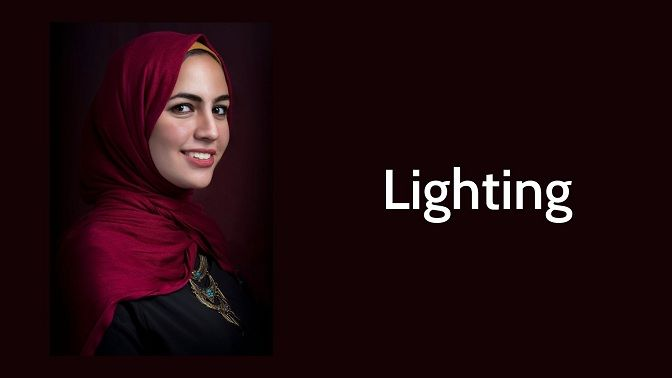 Lighting tips for business portrait image