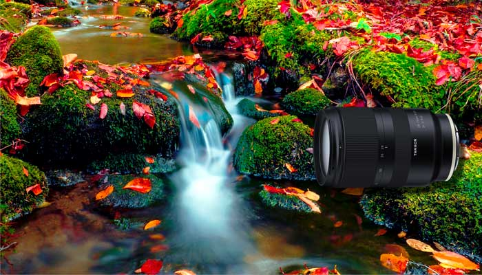 Lens for long exposure photography