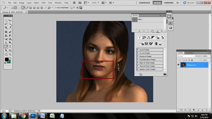 beauty retouching tips and tricks